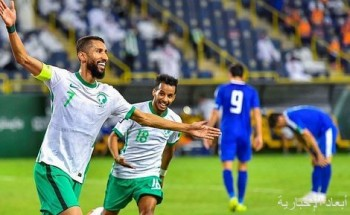 المنتخب السعودي الأول يتأهل للمرحلة الثالثة في تصفيات كأس العالم