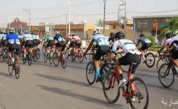 الدرّاج ناصر البراهيم بطلاً لسباق مرات للدراجات الهوائية في نسخته الثانية