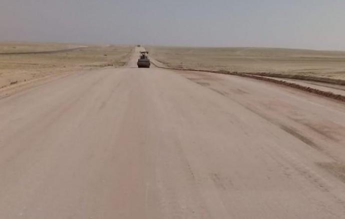 بتكلفة ٢٧ مليون ريال إصلاح ٢١ كيلو من طريق السفانية حفرالباطن