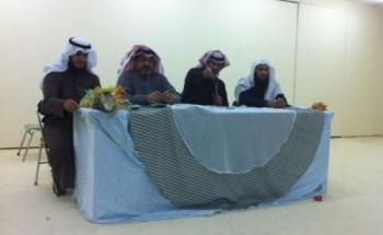 لقاء على المكشوف بين أداري مدرسة عبدالرحمن بن عوف المتوسطة بالخفجي وطلابها