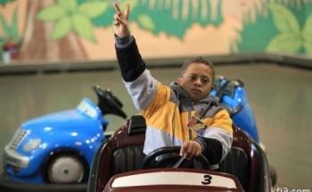 مركز ذوي الاحتياجات الخاصة في زيارة للخفجي مول وعالم المغامرات