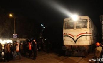 توقف قطارات قبلى بمصر لتبادل إطلاق النار بين الشرطة وباعة جائلين بملوى