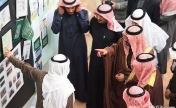 تغطية معرض مكتب التعليم ومدارس الخفجي بمناسبة شفاء الملك
