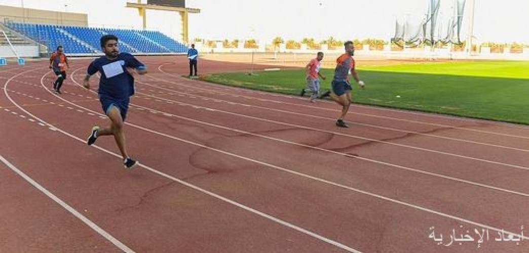 انطلاق بطولة الأندية لألعاب القوى لجميع الإعاقات بتبوك