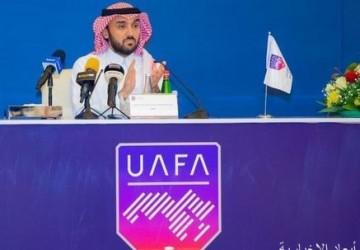 الجمعية العمومية للاتحاد العربي لكرة القدم تنصّب سمو الأمير عبدالعزيز بن تركي رئيساً لمجلس الاتحاد (2021 – 2025)