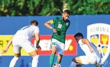 «الأخضر الأولمبي» يتعادل مع رومانيا