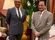 وزير التعليم يلتقي وزير الدولة للشرق الأوسط في الخارجية البريطانية خلال مشاركته في القمة العالمية للتعليم