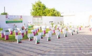 الشؤون الإسلامية توزع 600 سلة غذائية بالمعهد الإسلامي بأقليم لوغا بالسنغال ضمن برنامج خادم الحرمين لتفطير الصائمين