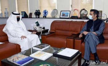 وزير الطاقة الباكستاني يلتقى بسفير المملكة