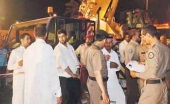 إصابة 7 عمال برأس تنورة في انهيار عمارة