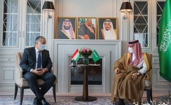 سمو الأمير فيصل بن فرحان يلتقي وزير خارجية طاجكستان