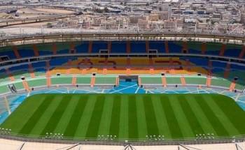 سمو وزير الرياضة يطلع على سير الأعمال في ملعب الأمير عبدالله الفيصل بجدة