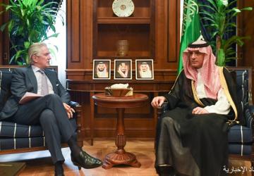 وزير الدولة للشؤون الخارجية يستقبل سفير فرنسا لدى المملكة