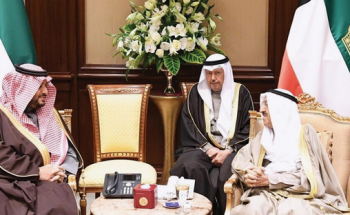 رسالة من خادم الحرمين لأمير الكويت