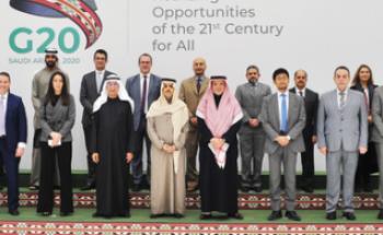 وزير الخارجية يلتقي سفراء ورؤساء وفود دول مجموعة العشرين