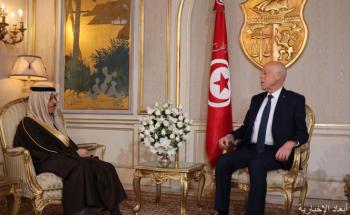 الرئيس التونسي يستقبل وزير الخارجية