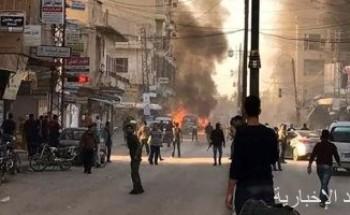 مقتل مدنى وإصابة 2 آخرين جراء اعتداء إرهابى بمدينة حلب