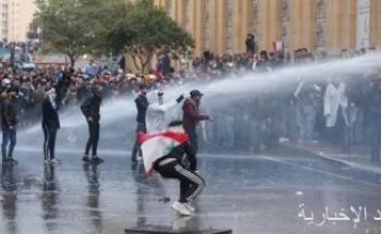 الأمن اللبنانى: إصابة 142 عنصرا شرطيا خلال أحداث شغب بيروت