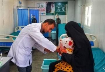 العيادات الطبية المتنقلة لمركز الملك سلمان للإغاثة تقدم خدماتها العلاجية لـ 30,336 شخصًا في مخيم الخانق خلال العام 2019م
