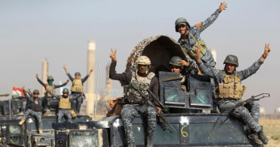 قوات مكافحة الإرهاب العراقى تعتقل إرهابيًا فى الموصل