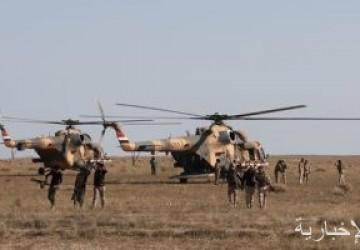 القوات العراقية تداهم أوكار وكهوف تابعة لداعش فى وادى الثرثار