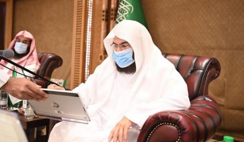 السديس يدشن حملة وكالة المسجد النبوي لخدمة الزوار