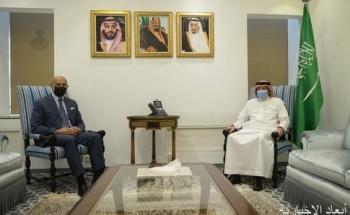 نائب وزير الخارجية يستقبل سفير إيطاليا لدى المملكة