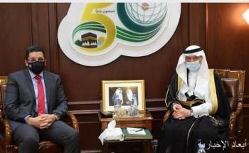 أمين منظمة التعاون الإسلامي يبحث مع وزير الخارجية اليمني التطورات في اليمن
