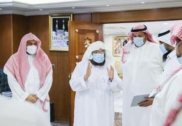الرئيس العام لشؤون الحرمين يدشن برامج الإدارة العامة للأمن السيبراني