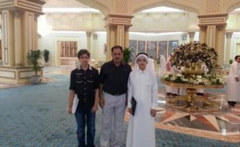 الطالب محمد الزهوري من الخفجي الخامس في مسابقة الامير نايف للحديث على مستوى المملكة