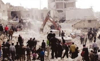 قصف القصر الرئاسي بدمشق.. والنظام يدك حلب بالصواريخ