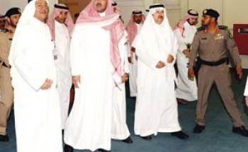 فيصل بن سلمان يطلع على أعمال المدينة الصناعية