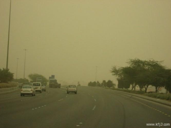 """""""الأرصاد"""": استمرار نشاط الرياح المُثيرة للغبار على الشرقية والوسطى"""