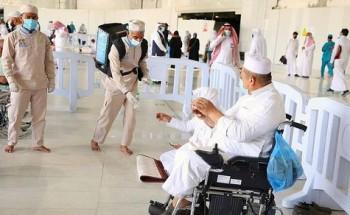 """خدمات متميزة تقدمها """"شؤون الحرمين"""" لذوي الإعاقة السمعية والبصرية بالمسجد الحرام"""