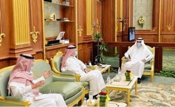 نائب رئيس مجلس الشورى يلتقي وكيل وزارة الخارجية لشؤون الدبلوماسية العامة
