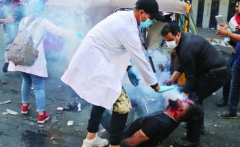مصـرع متـظاهرين وإصــابة 16 آخــرين ببـغــداد