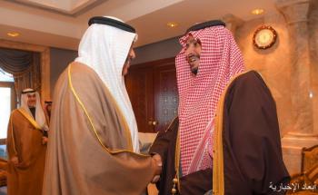 رئيس مجلس الوزراء الكويتي يستقبل تركي بن محمد بن فهد