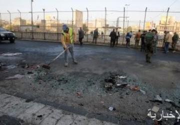 إصابة 6 أشخاص بانفجار ثلاث عبوات ناسفة فى بغداد