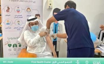 مستشفى الخفجي يدشن حملة تطعيم ضد الإنفلونزا الموسمية