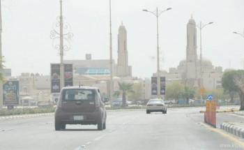 الحر والغبار والرطوبة عرض مستمر لأجواء الشرقية