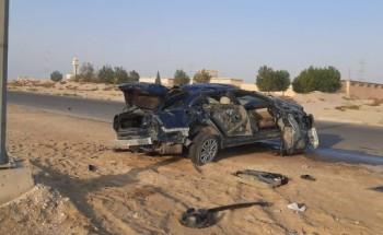 حادث مروري يودي بحياة شابين في الخفجي