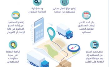 تطبيق خدمة التوصيل عبر المنصات الإلكترونية في 20 ديسمبر