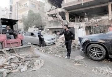 مقتل وإصابة 7 أشخاص إثر انفجار لغم بريف درعا
