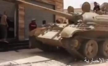 الجيش الليبى يكشف عن مواقع بمصراتة لتخزين معدات تركية