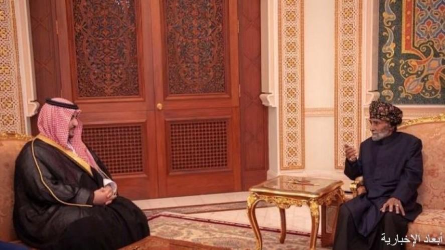 خالد بن سلمان معزياً في وفاة السلطان قابوس: تشرفت باستقباله لي قبل شهرين