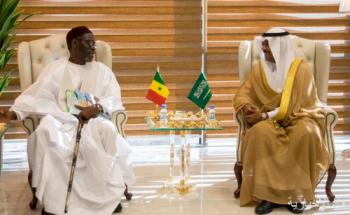 نائب وزير الحج والعمرة يستقبل رئيس مفوضية مكتب شؤون حجاج السنغال