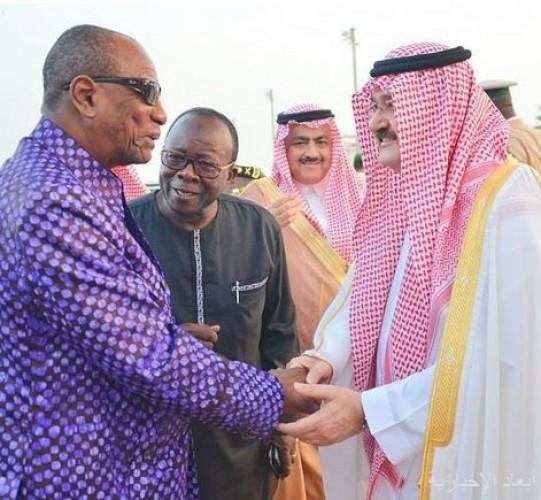رئيس جمهورية غينيا يغادر جدة