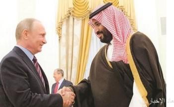 اتصال ولي العهد والرئيس الروسي ينعش آمال استعادة استقرار الطاقة
