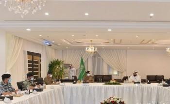 مسؤولو وزارة الحج والعمرة وقيادات الأمن العام يعقدون اجتماعهم السنوي