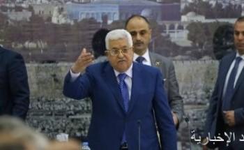 الرئيس الفلسطينى يتلقى رسالة من نظيره السورى